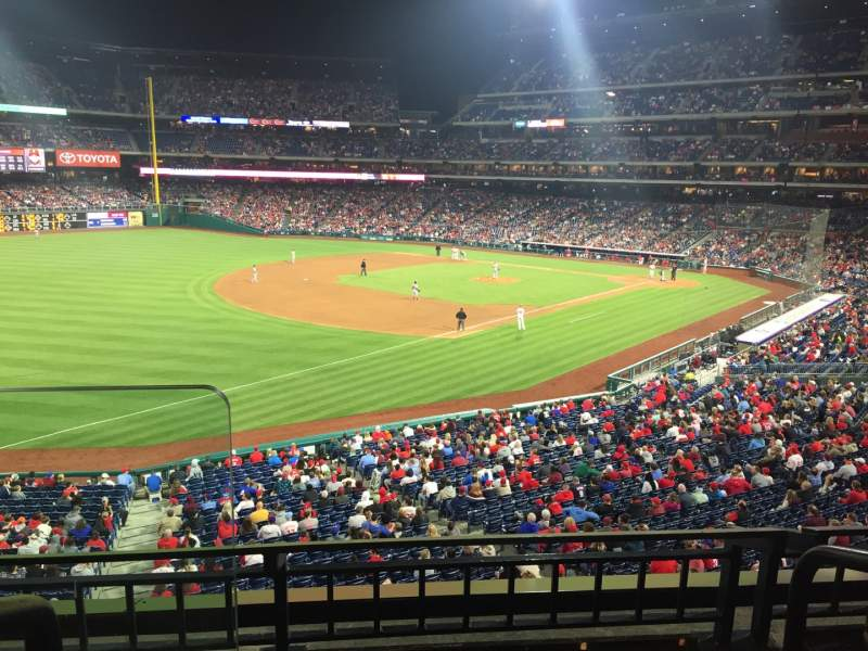 Seating view for Citizens Bank Park Section Suite 7 Seat 3