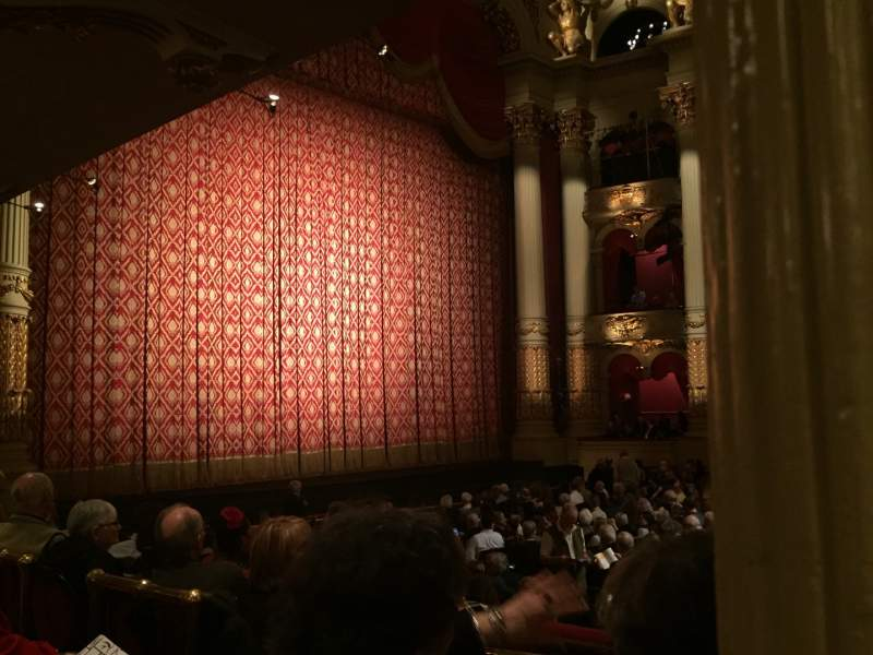 Seating view for Academy of Music Section Parquet Circle H Row U Seat 31