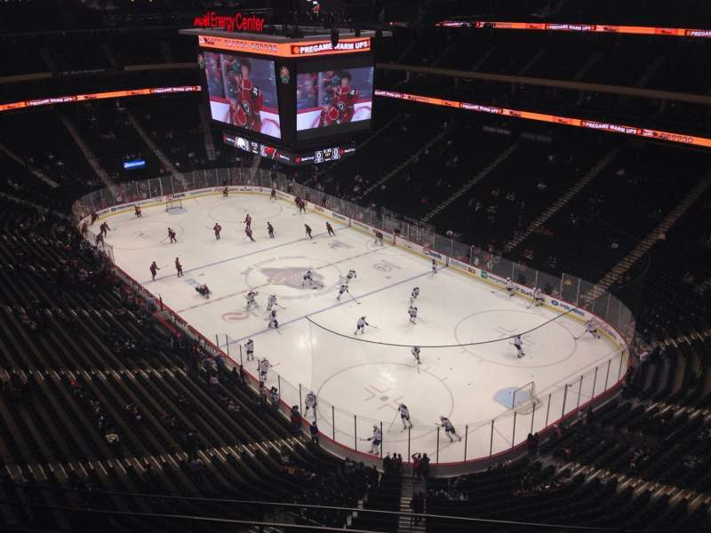 Seating view for Xcel Energy Center Section 215 Row 5 Seat 8