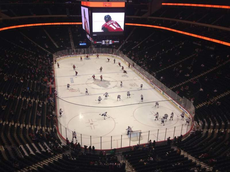 Seating view for Xcel Energy Center Section 213 Row 2 Seat 6