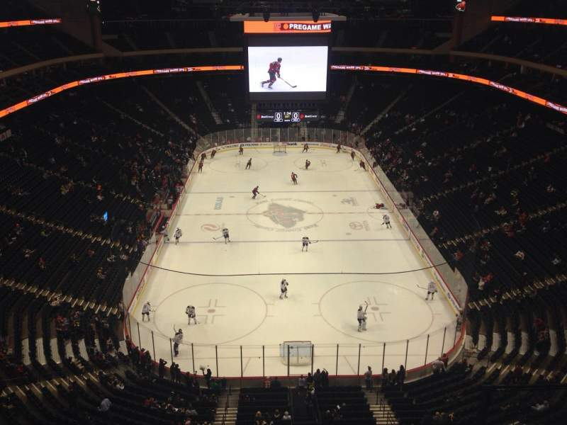 Seating view for Xcel Energy Center Section 212 Row 3 Seat 3
