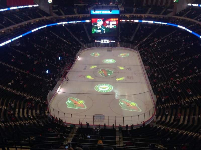 Seating view for Xcel Energy Center Section 211 Row 6 Seat 11