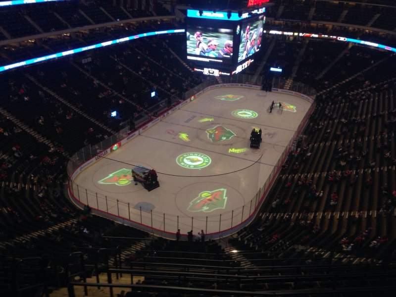 Seating view for Xcel Energy Center Section 209 Row 7 Seat 17