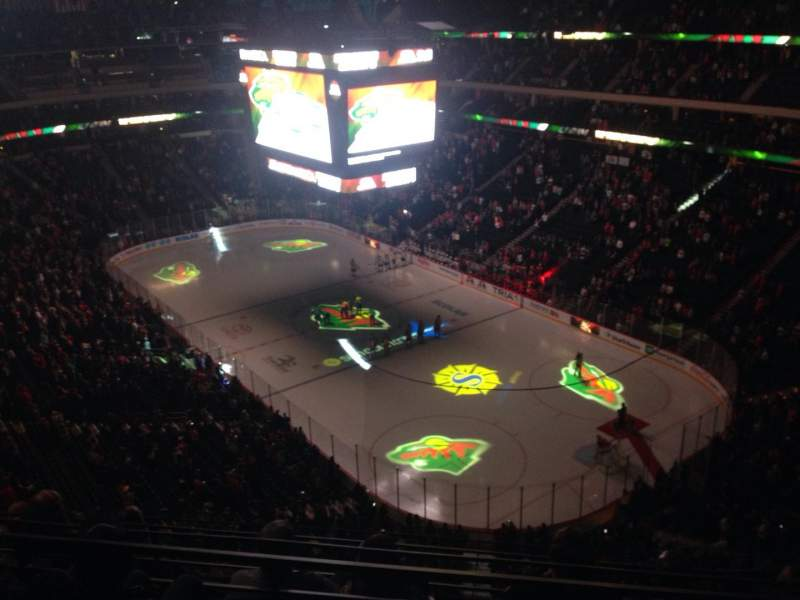 Seating view for Xcel Energy Center Section 230 Row 5 Seat 7