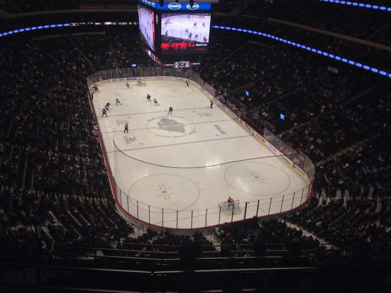 Seating view for Xcel Energy Center Section 228 Row 6 Seat 14