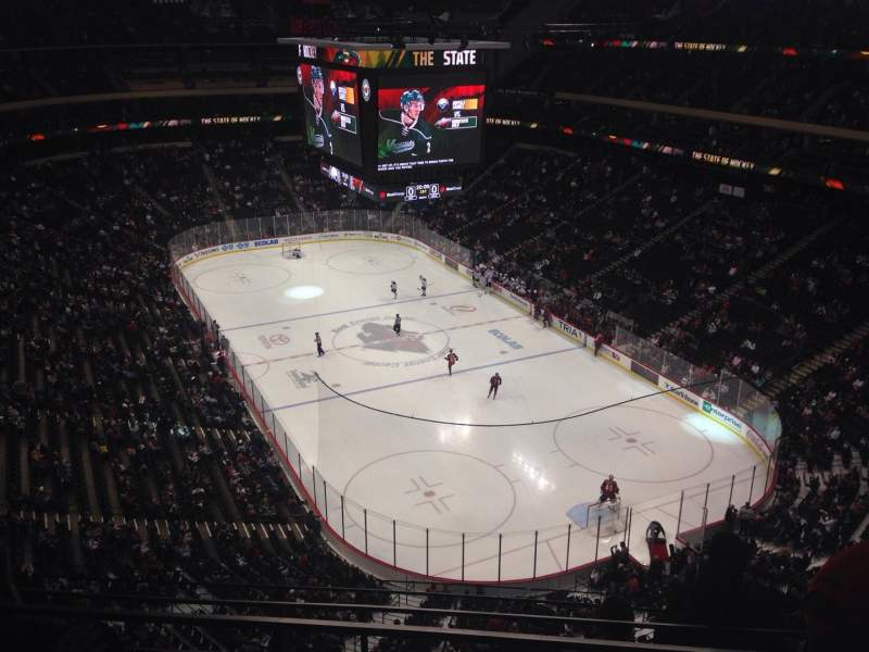 Seating view for Xcel Energy Center Section 229 Row 4 Seat 8