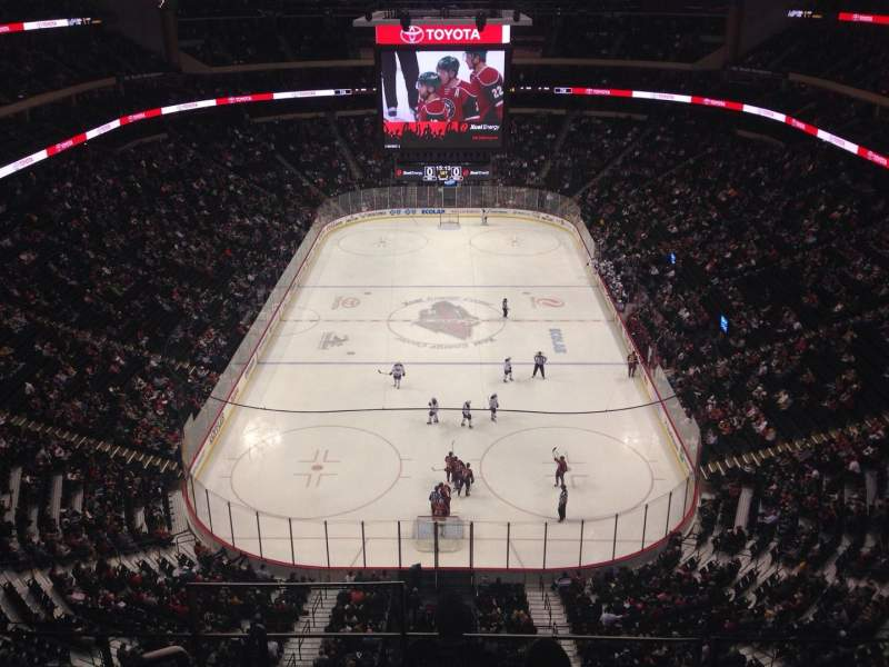 Seating view for Xcel Energy Center Section 226 Row 4 Seat 16