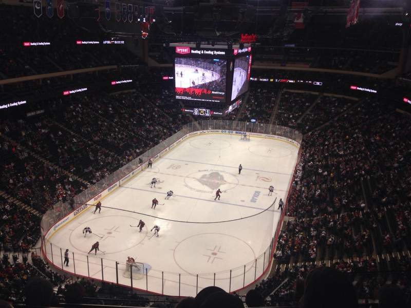 Seating view for Xcel Energy Center Section 225 Row 4 Seat 4