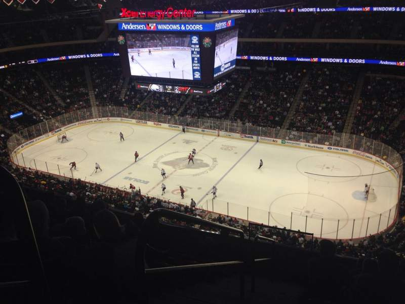Seating view for Xcel Energy Center Section 216 Row 8 Seat 23