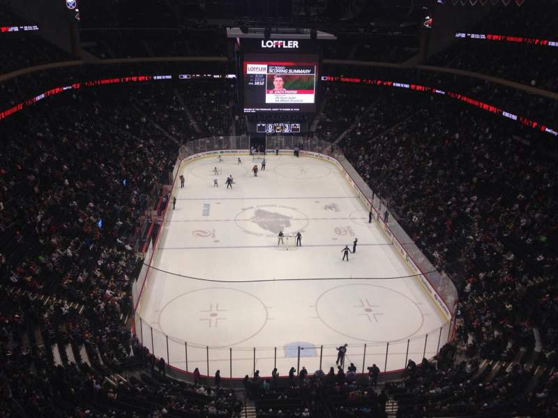 Seating view for Xcel Energy Center Section 212 Row 4 Seat 10