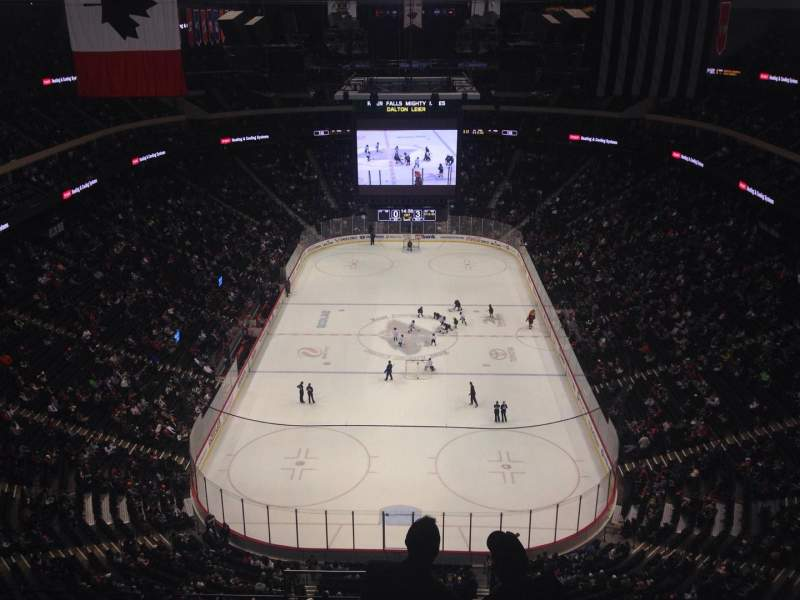 Seating view for Xcel Energy Center Section 211 Row 7 Seat 16