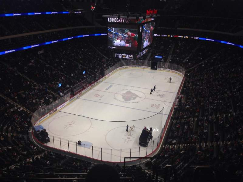 Seating view for Xcel Energy Center Section 210 Row 5 Seat 1