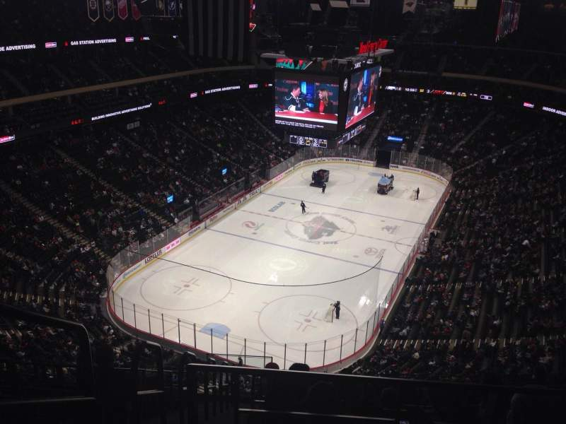 Seating view for Xcel Energy Center Section 209 Row 8 Seat 14