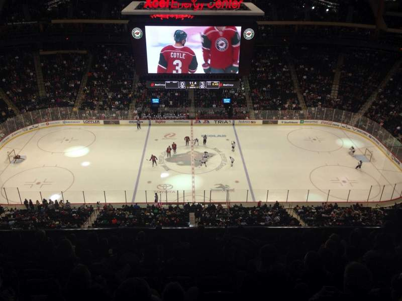 Seating view for Xcel Energy Center Section 204 Row 11 Seat 10