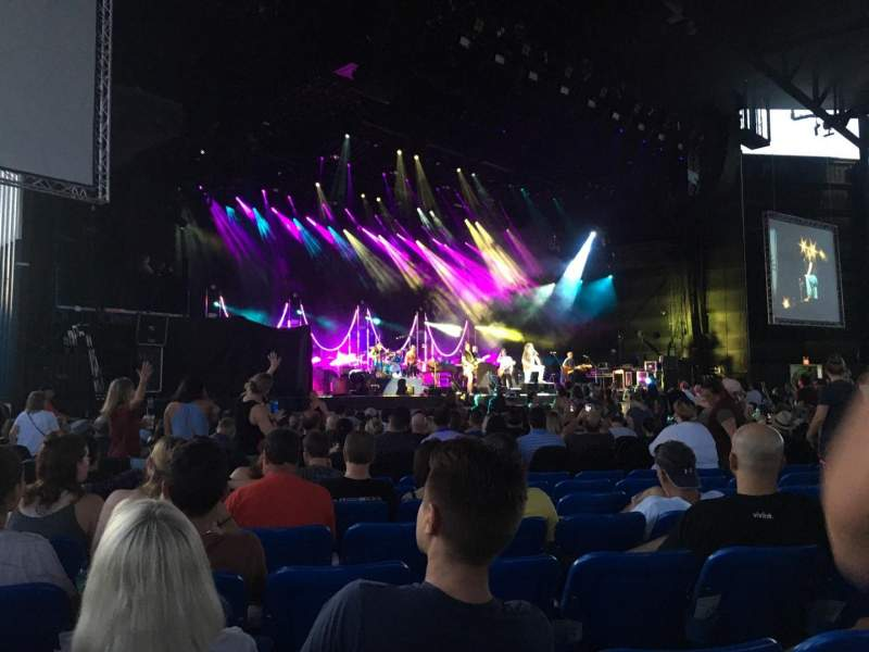 Coral Sky Amphitheatre, section: 3, row: W, seat: 17