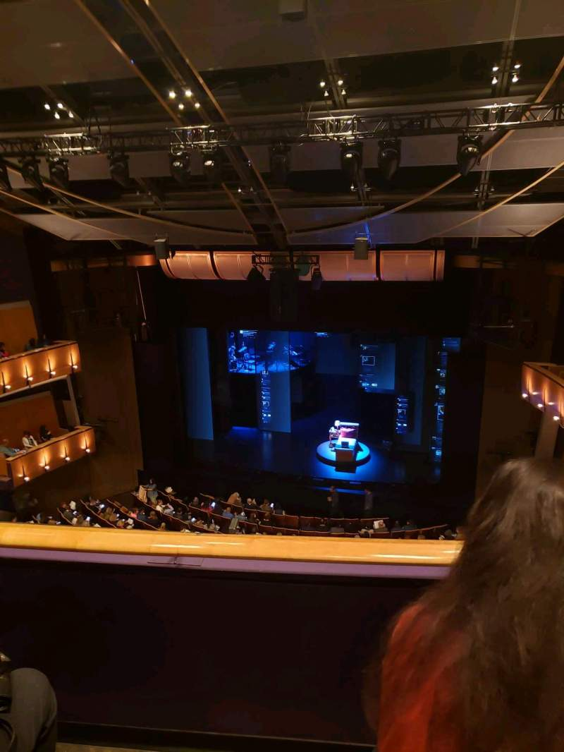 Seating view for Ahmanson Theatre Section Balcony Row B Seat 12