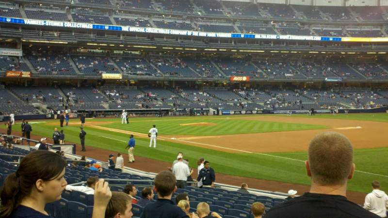 Seating view for Yankee Stadium Section 112 Row 16 Seat 14