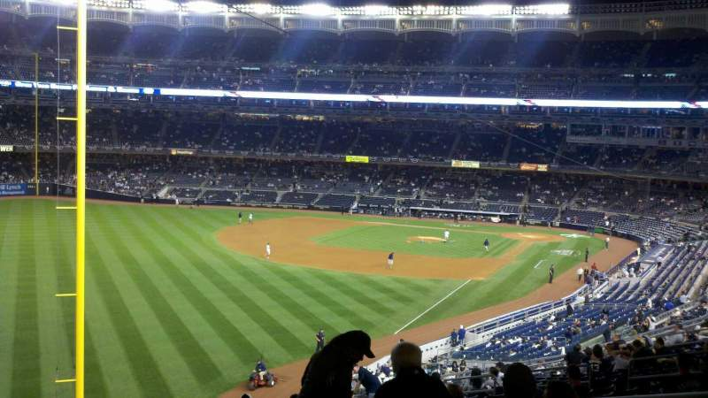 Seating view for Yankee Stadium Section 232B Row 19 Seat 2