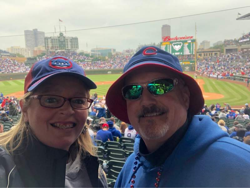 Seating view for Wrigley Field Section 115 Row 15 Seat 8