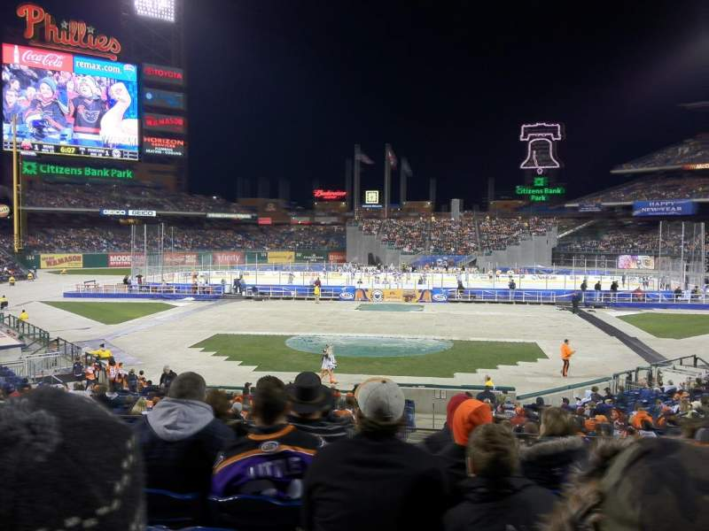 Seating view for Citizens Bank Park Section 123 Row 26 Seat 8