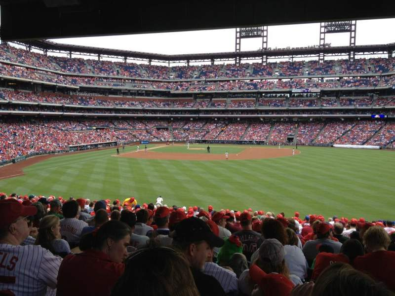 Seating view for Citizens Bank Park Section 104