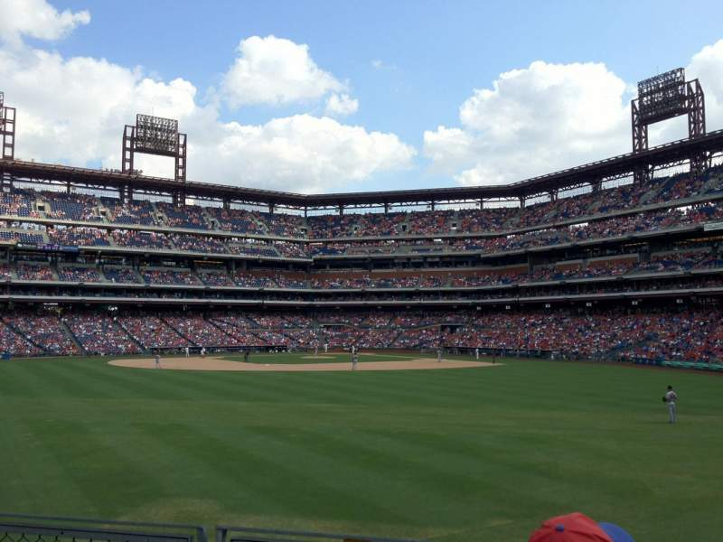 Seating view for Citizens Bank Park Section 147 Row 3 Seat 6