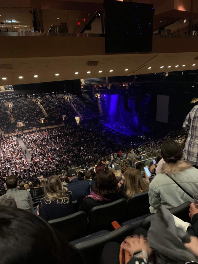 Seating view for Madison Square Garden Section 210 Row 17 Seat 10