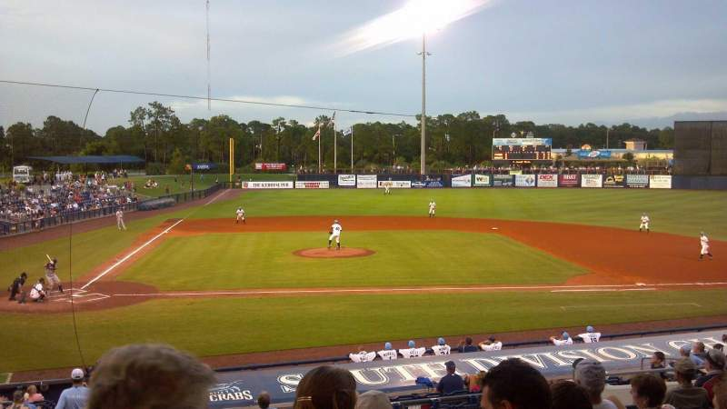 Seating view for Charlotte Sports Park Section 204 Row 12 Seat 20