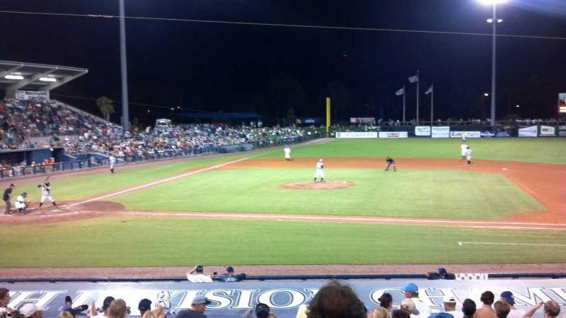 Seating view for Charlotte Sports Park Section 203 Row 6 Seat 20