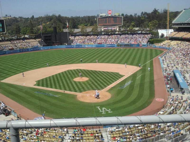 Dodger stadium, section 3rs, home of Los Angeles Dodgers
