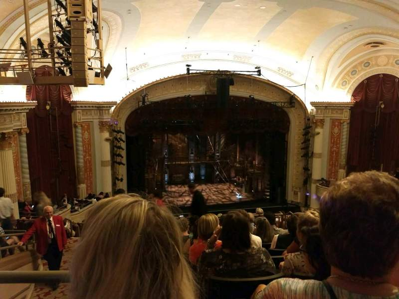 Seating view for KeyBank State Theatre Section Mezzanine Row N Seat 506
