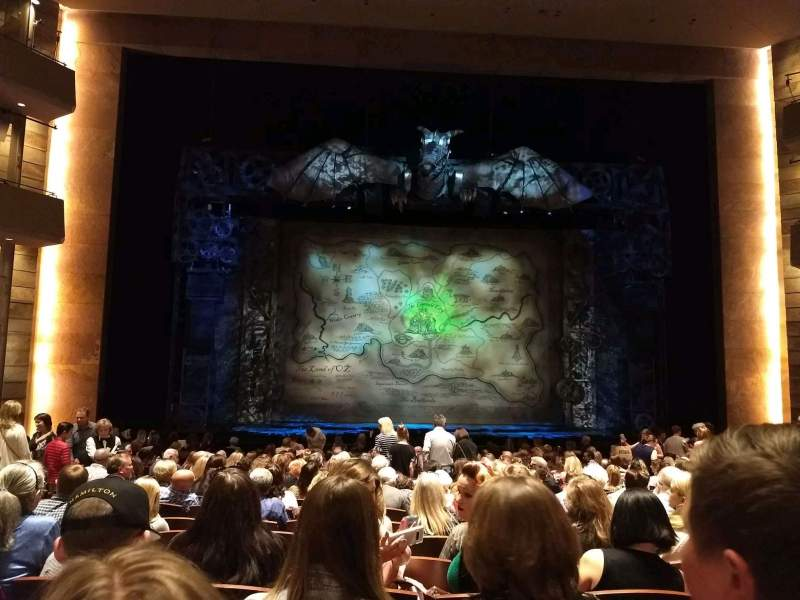 Seating view for The Buell Theatre Section Orchestra C Row S Seat 20