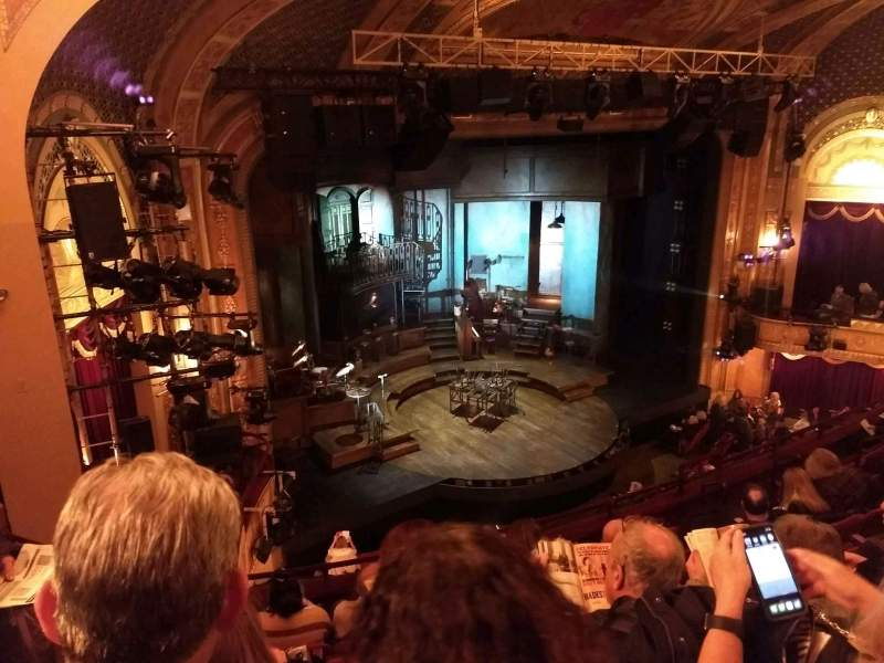Seating view for Walter Kerr Theatre Section Mezzanine L Row H Seat 25