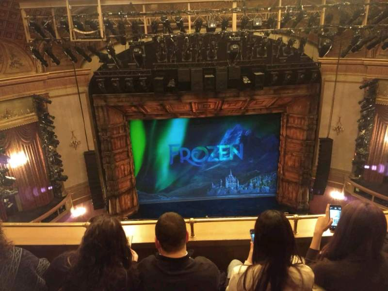 Seating view for St. James Theatre Section Balcony C Row C Seat 111