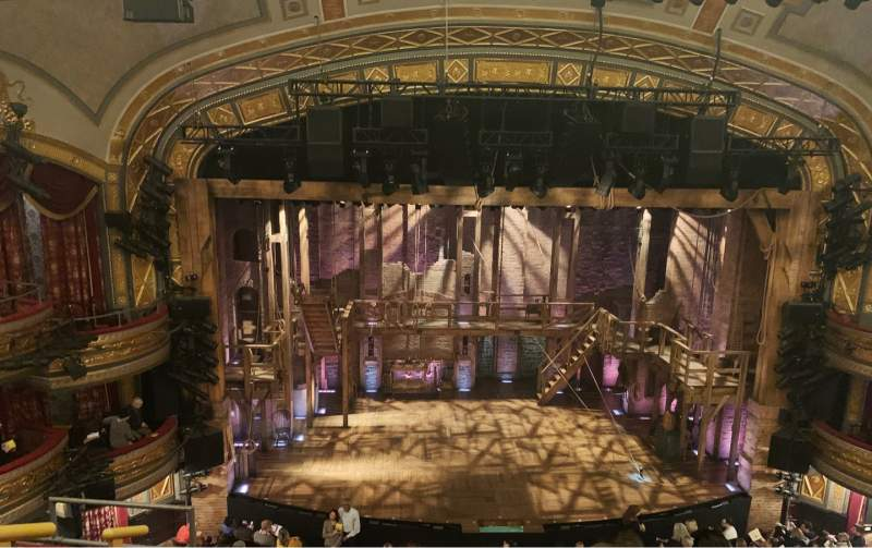 Seating view for Richard Rodgers Theatre Section Front Mezzanine C Row E Seat 112