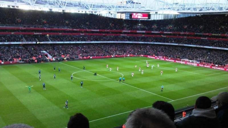 Seating view for Emirates Stadium Section 115 Row 3