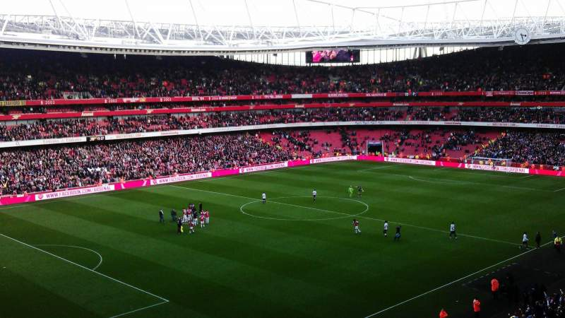 Seating view for Emirates Stadium Section 95 Row 2