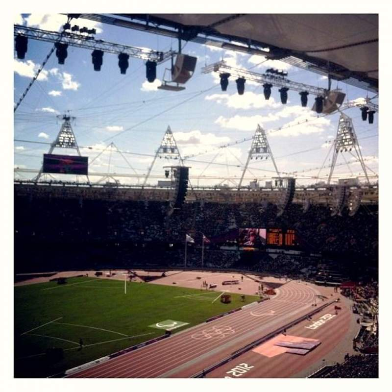 Seating view for London Stadium Section 202 Row 66 Seat 634