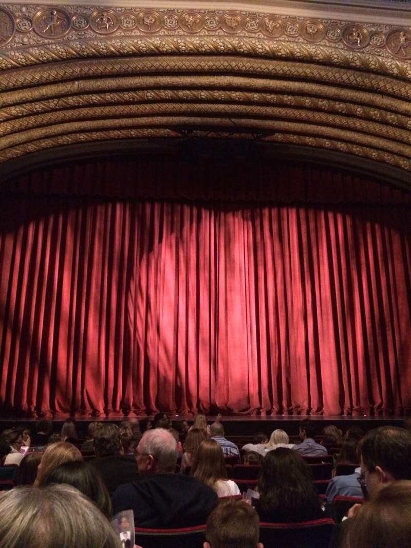 Seating view for Orpheum Theatre (Phoenix) Section A Row 11 Seat 13