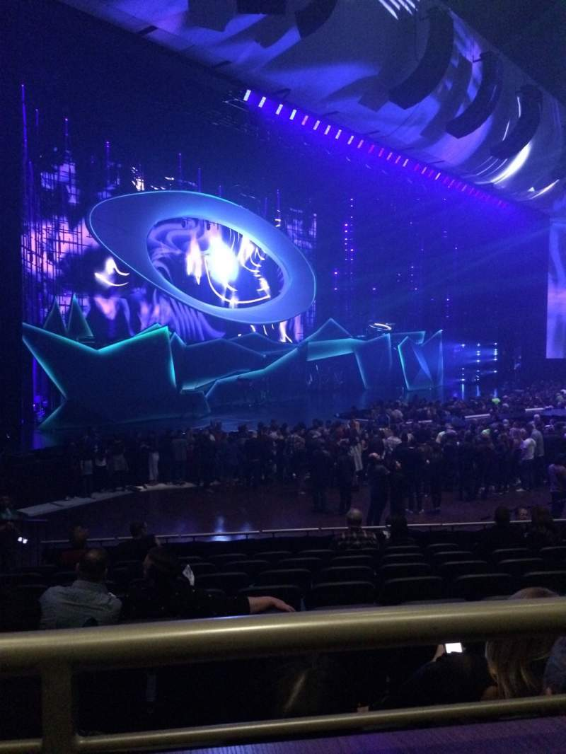 Seating view for Park Theater at Park MGM Section 306 Row A Seat 19
