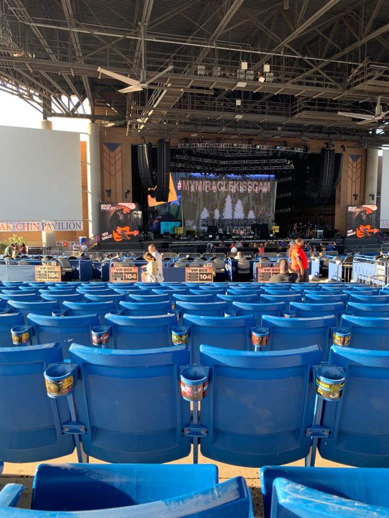 Seating view for Ak-Chin Pavilion Section 204 Row KK Seat 11