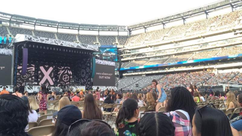 Seating view for MetLife stadium Section 11 Row 24 Seat 5
