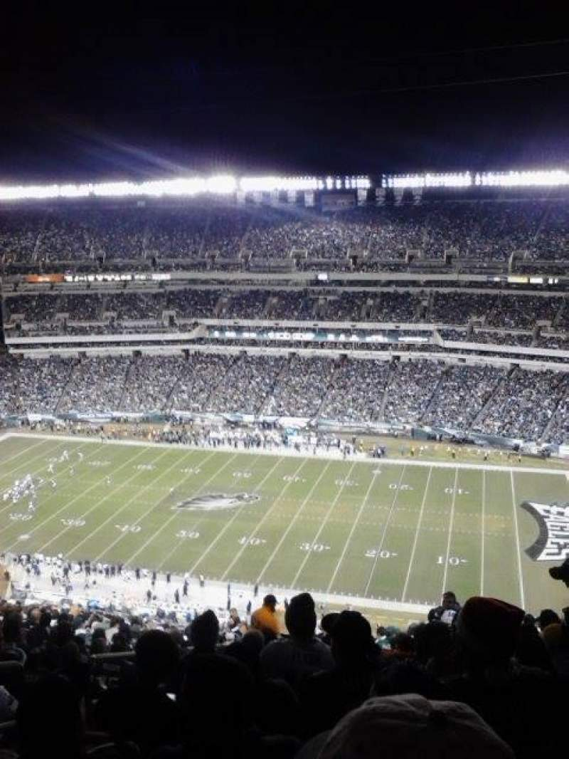Seating view for Lincoln Financial Field Section 228 Row 29 Seat 31