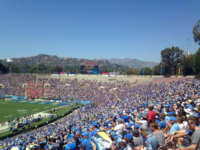 Seating view for Rose Bowl Section 24-L
