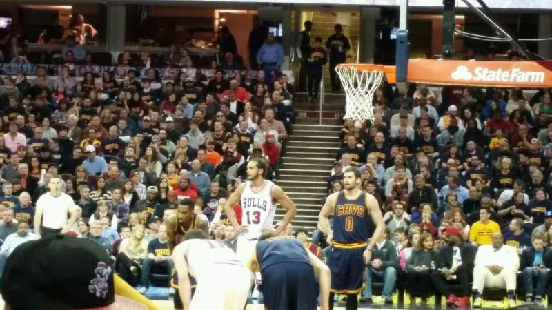 Seating view for Quicken Loans Arena Section 127 Row 6 Seat 4