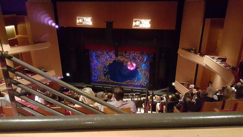 Seating view for Durham Performing Arts Center Section Balcony 10 Row K Seat 203