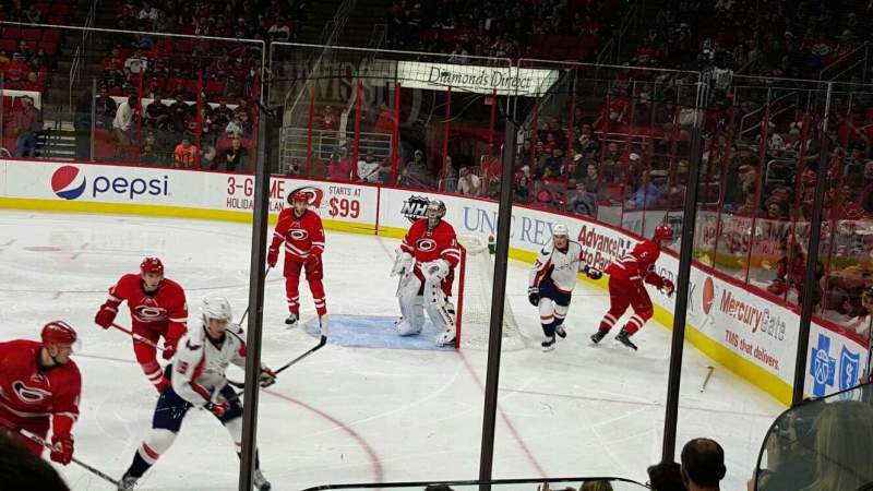 Seating view for PNC Arena Section 101 Row H Seat 1