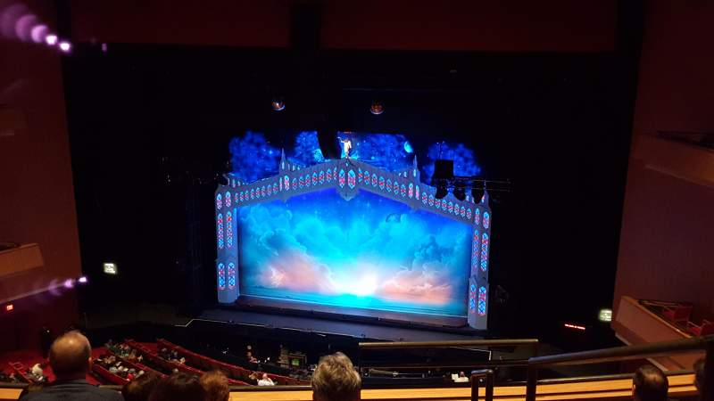 Seating view for Durham Performing Arts Center Section 9 Row E Seat 101