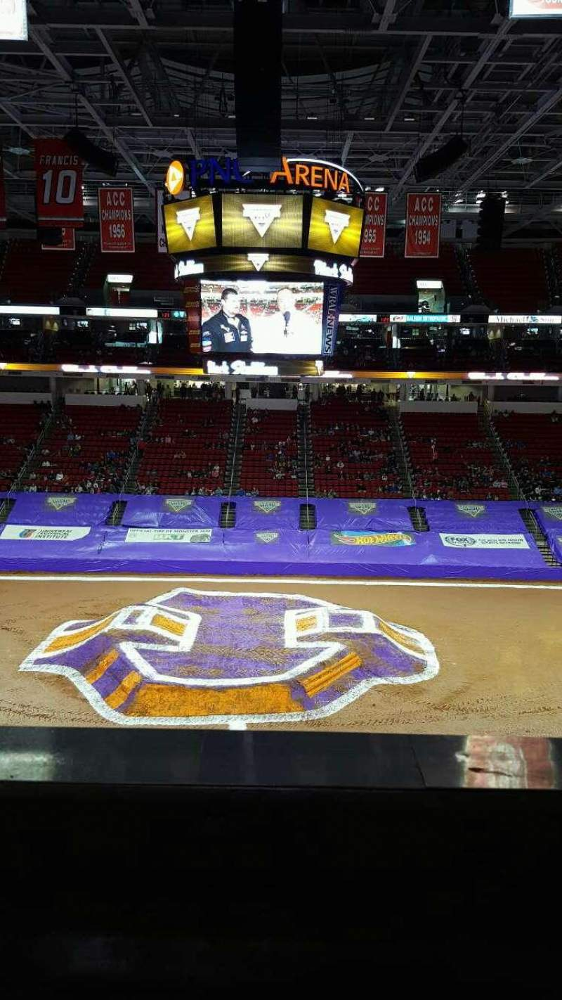 PNC Arena, section: 220 , row: a, seat: 6