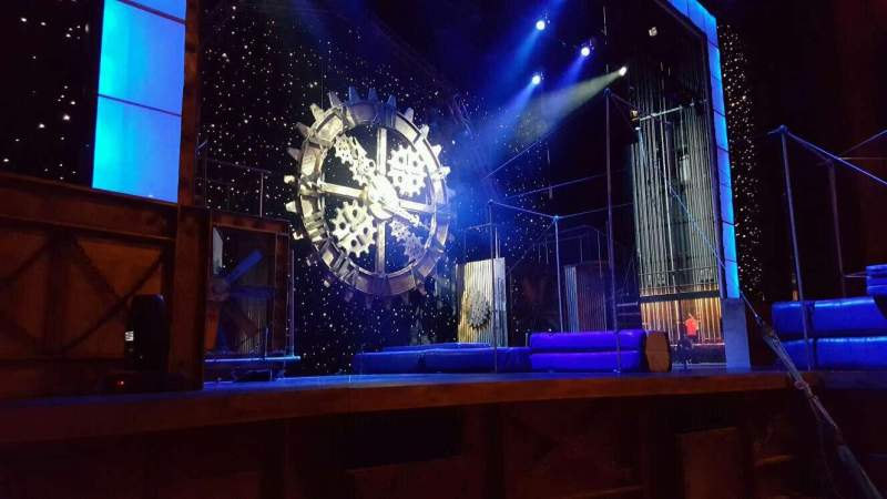 Seating view for Palace Theatre (Myrtle Beach)  Section orchestra  Row LB Seat 8
